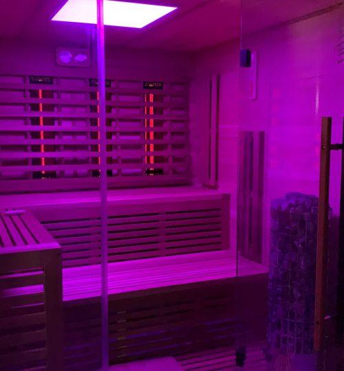 finse sauna/infrarood sauna